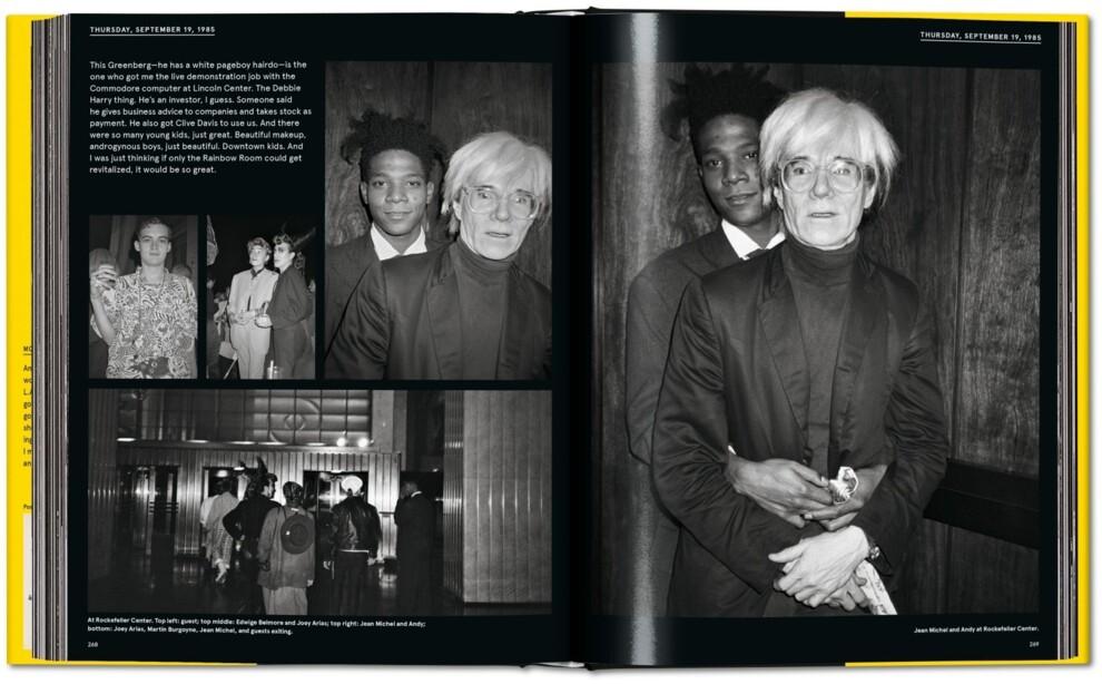 Уже цього літа Taschen опублікує книгу про дружбу Енді Уорхола та Жана-Мішеля Баскії