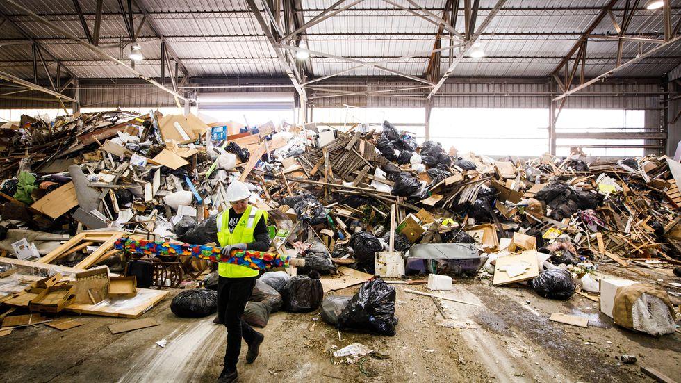 У Сан-Франциско митці провели виставку, де головним експонатом стало сміття
