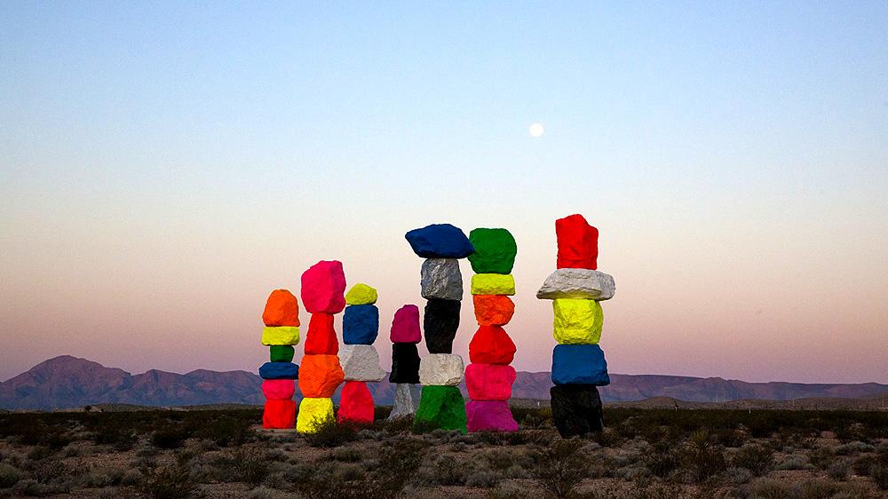 Інсталяцію «Сім чарівних пагорбів» збережуть у пустелі Невади