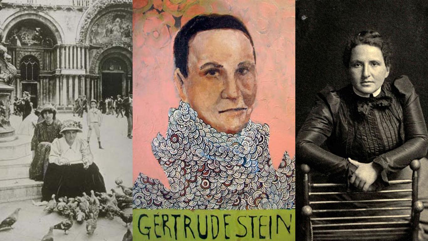 Хто вона: Ґертруда Стайн