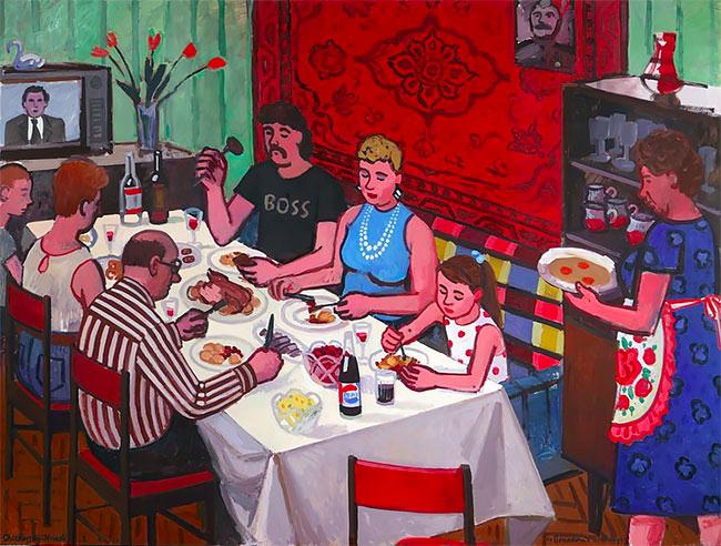 Українська художниця розповіла про своє радянське дитинство на виставці у Нью-Йорку