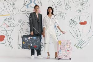 Маша Рева презентувала колекцію валіз із авторським дизайном