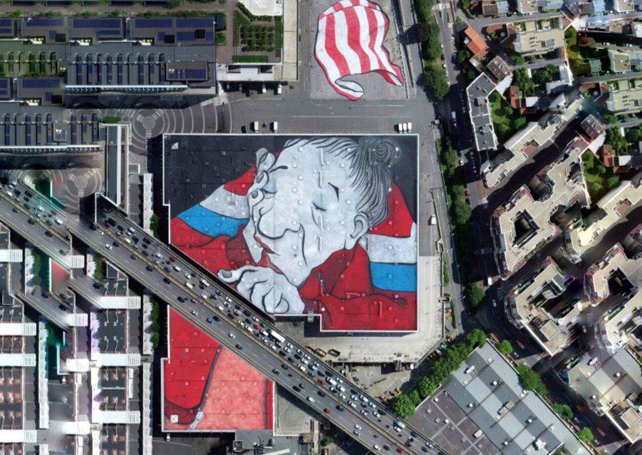 У Парижі намалювали найбільше графіті в Європі