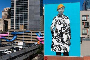 Портретистка Мішель Обами презентувала мурал у Філадельфії