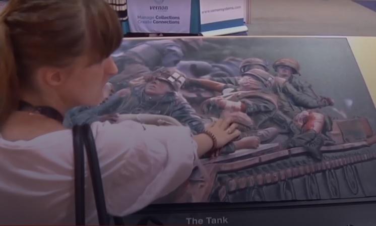 Презентовано технологію, яка допоможе незрячим людям «побачити» картини