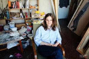 Леся Хоменко: про дворічну програму в КАМА, групу «Р.Е.П.» та політику в мистецтві