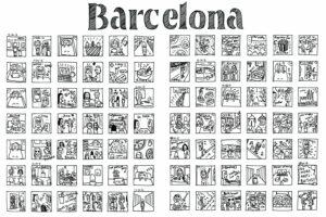 Графічна дизайнерка створила серію візуальних календарів