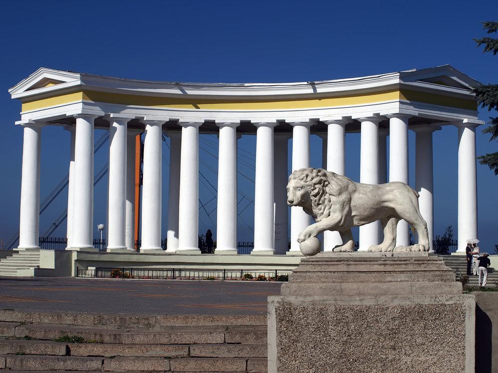 В Одесі з'явилися інклюзивні пам'ятки архітектури