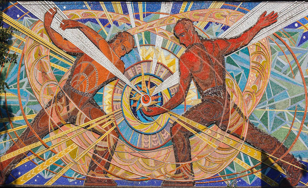 Українські художниці долучилися до створення купальників з мозаїками
