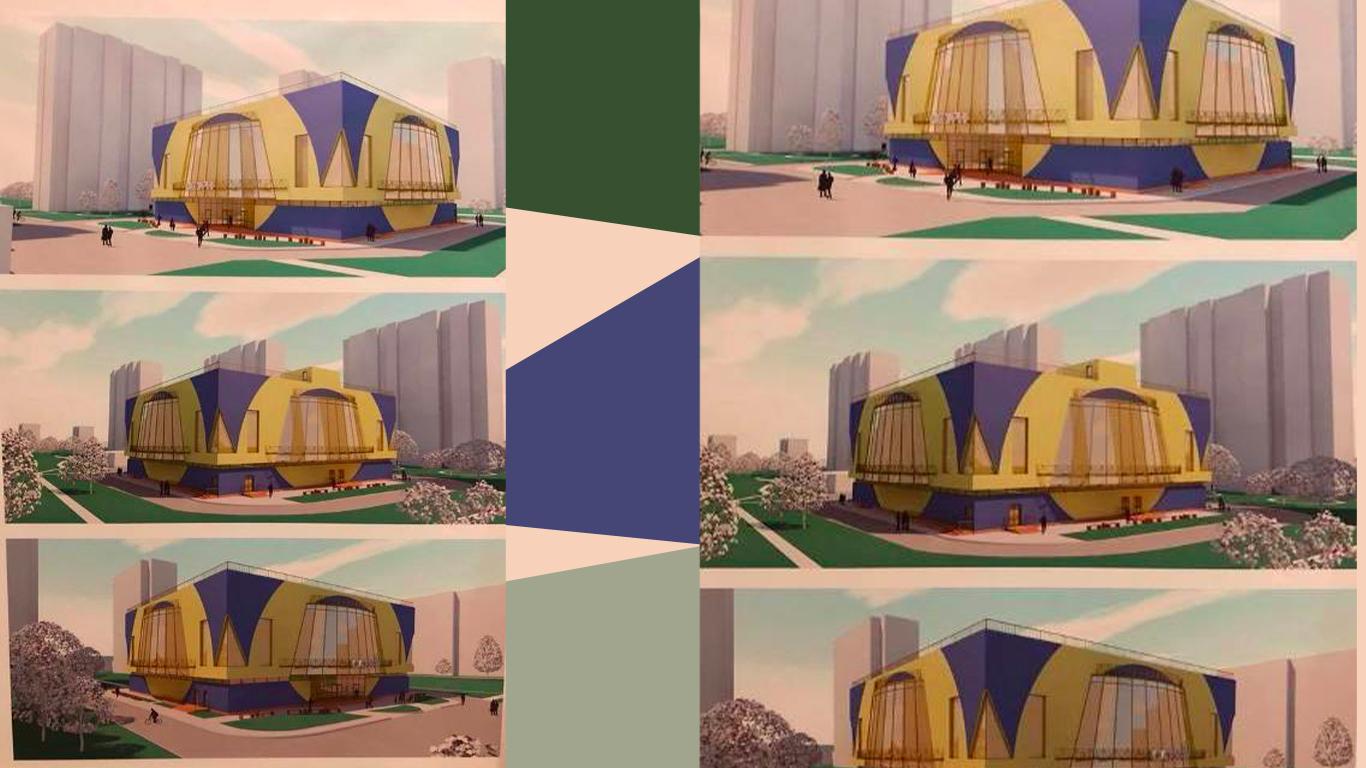 Київська міська рада пообіцяла змінити проєкт фасаду спорткомплексу на Райдужному