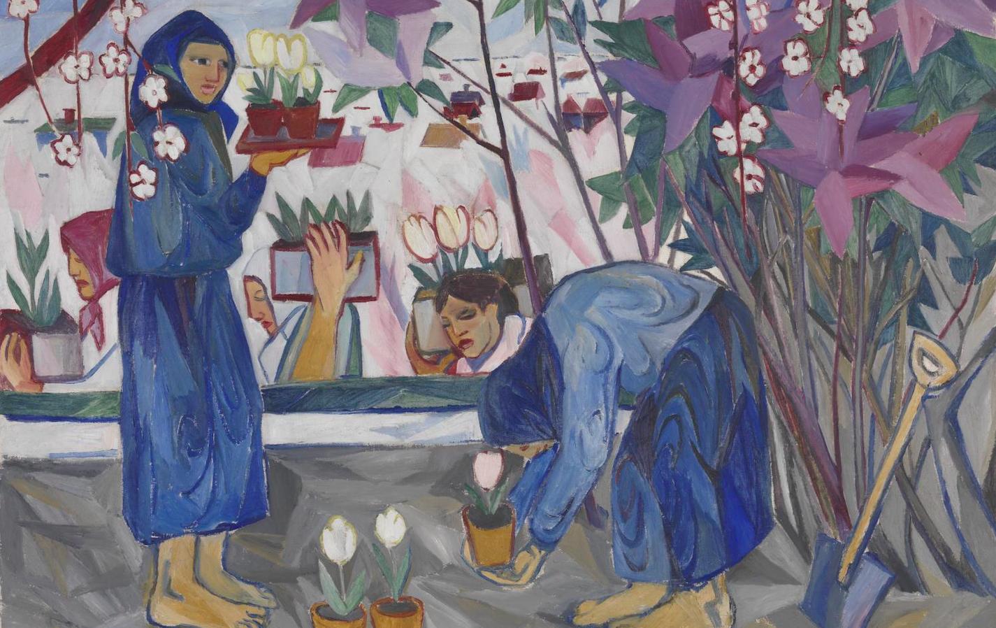 О персональной выставке Натальи Гончаровой в лондонской галерее Tate Modern
