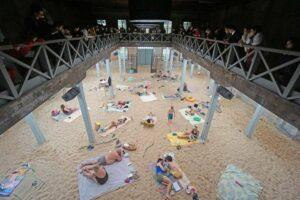 Литовський павільйон «Сонце і море» буде відкритий для відвідувачів два рази на тиждень