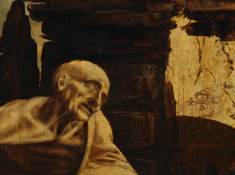 Відкриється виставка незакінченої картини Леонардо да Вінчі «Святий Ієронім»