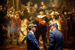 В Амстердамі розпочалась публічна реставрація картини Рембрандта