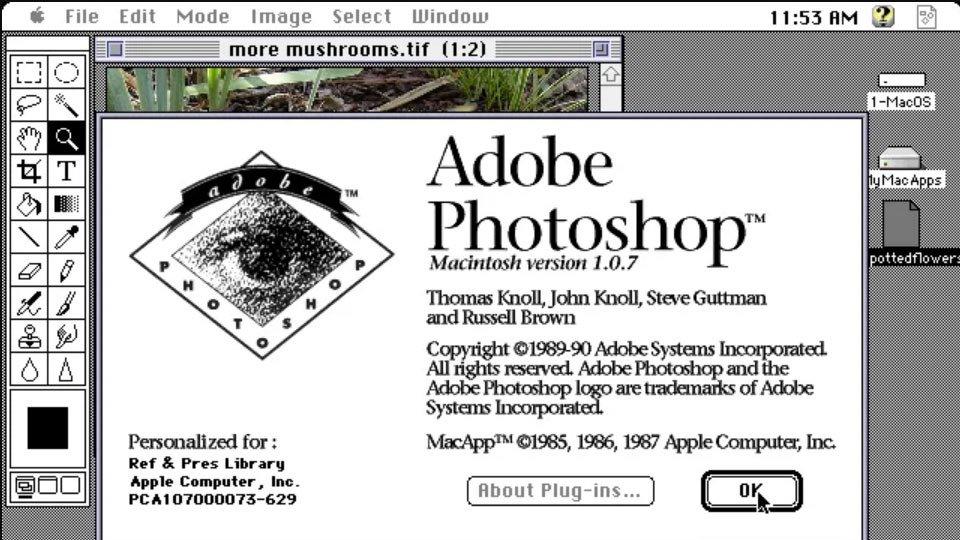 Історія створення Adobe Photoshop тепер доступна у віртуальному музеї