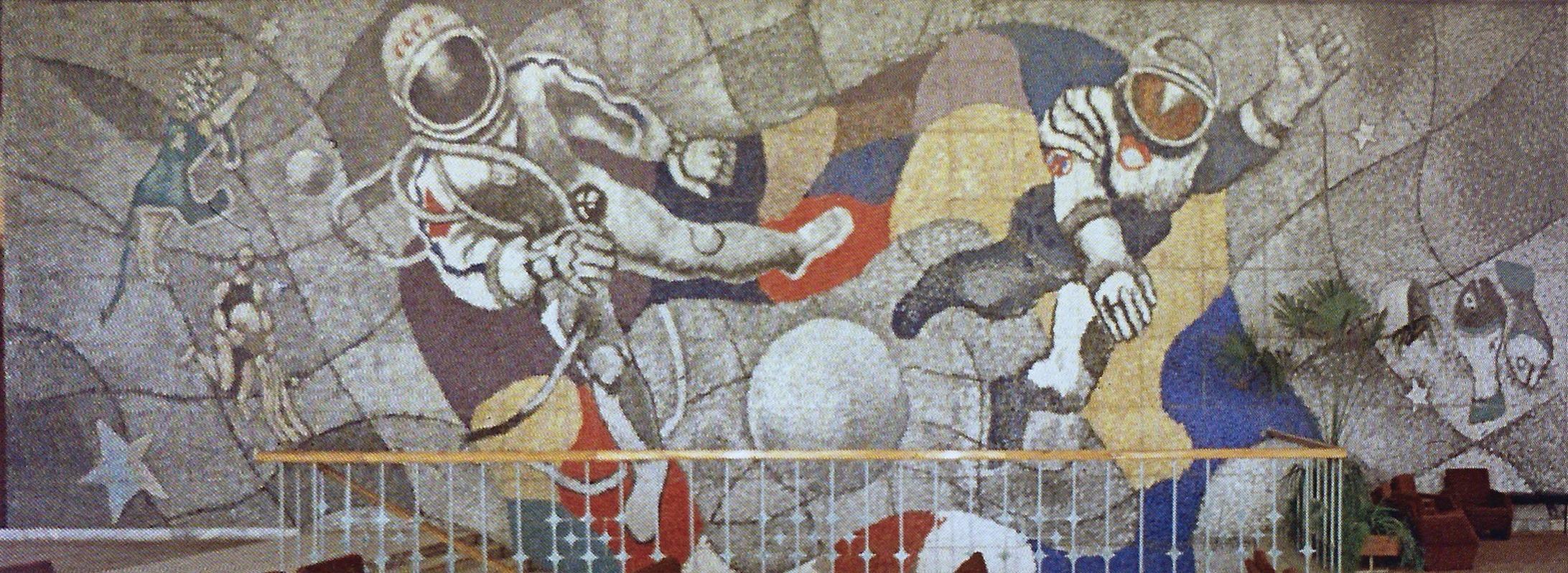Мозаїки Юрія Єгорова передадуть в Одеський художній музей