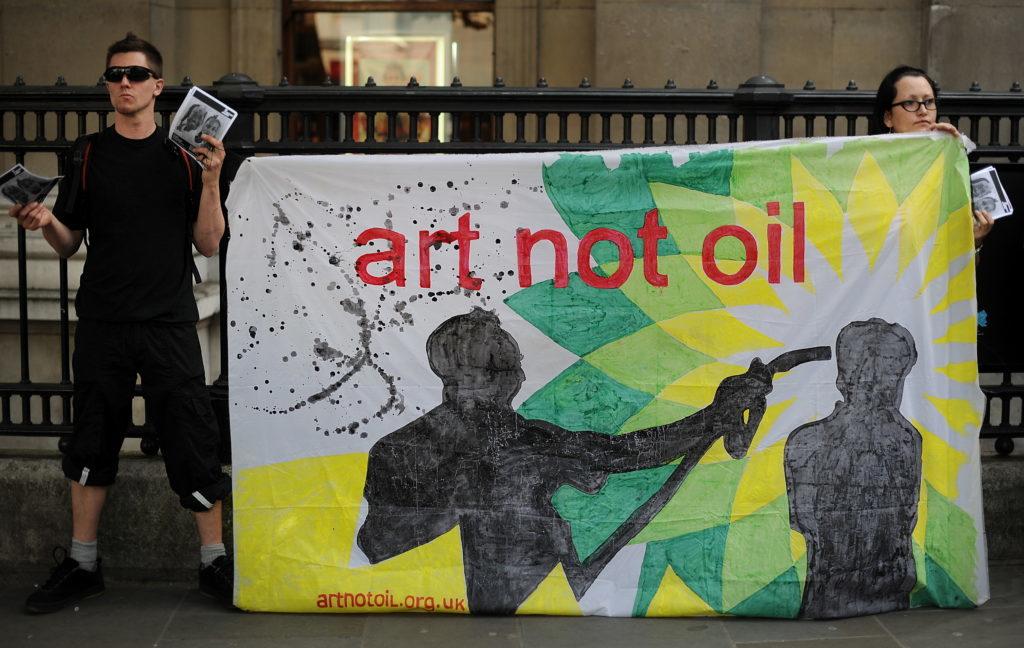 78 художників Британії вимагають розірвати контракт з нафтовою компанією