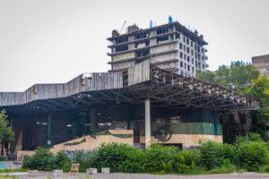 У Дніпрі збережуть мозаїку на будівлі театру «Експрес»