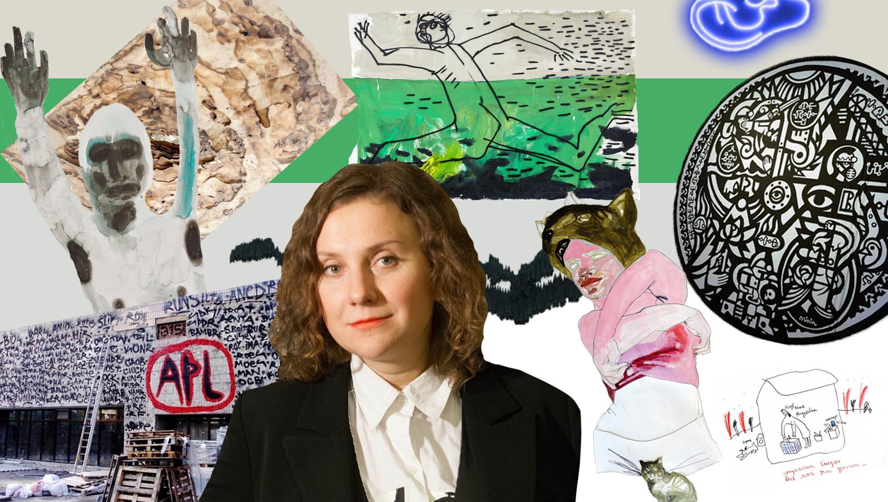 Аліса Ложкіна випустить книгу про українське сучасне мистецтво