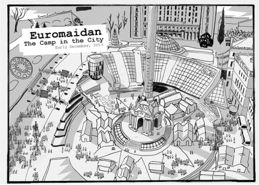 The Guardian опублікував комікс про Україну