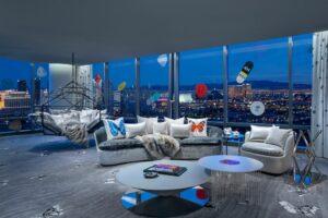 Дизайнерський номер від Дем'єна Герста увійшов до списку кращих місць світу