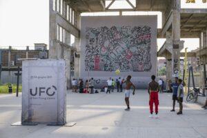 В Італії дрони намалювали графіті