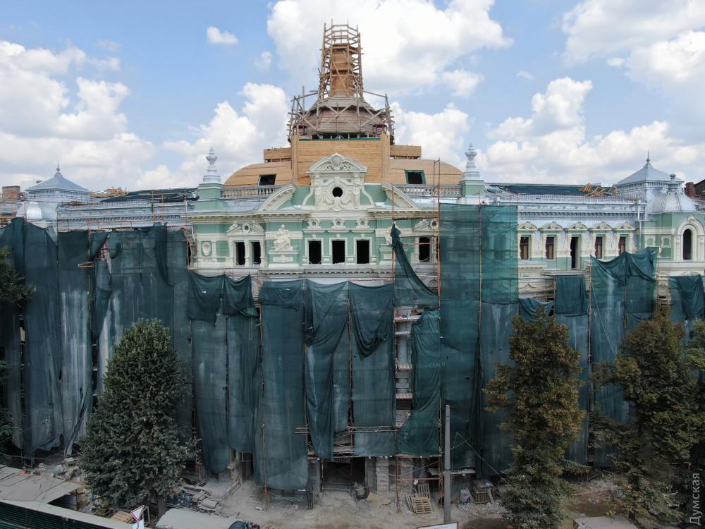 Реставратори відкрили фасад будинку Руссова