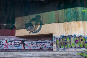 У Дніпрі можуть знести мозаїку на будівлі літнього театру «Експрес»