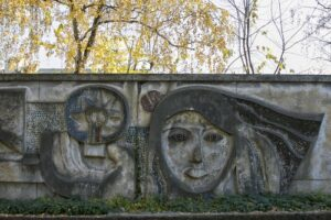 У Львові знищили мозаїку біля колишнього заводу «Кінескоп»