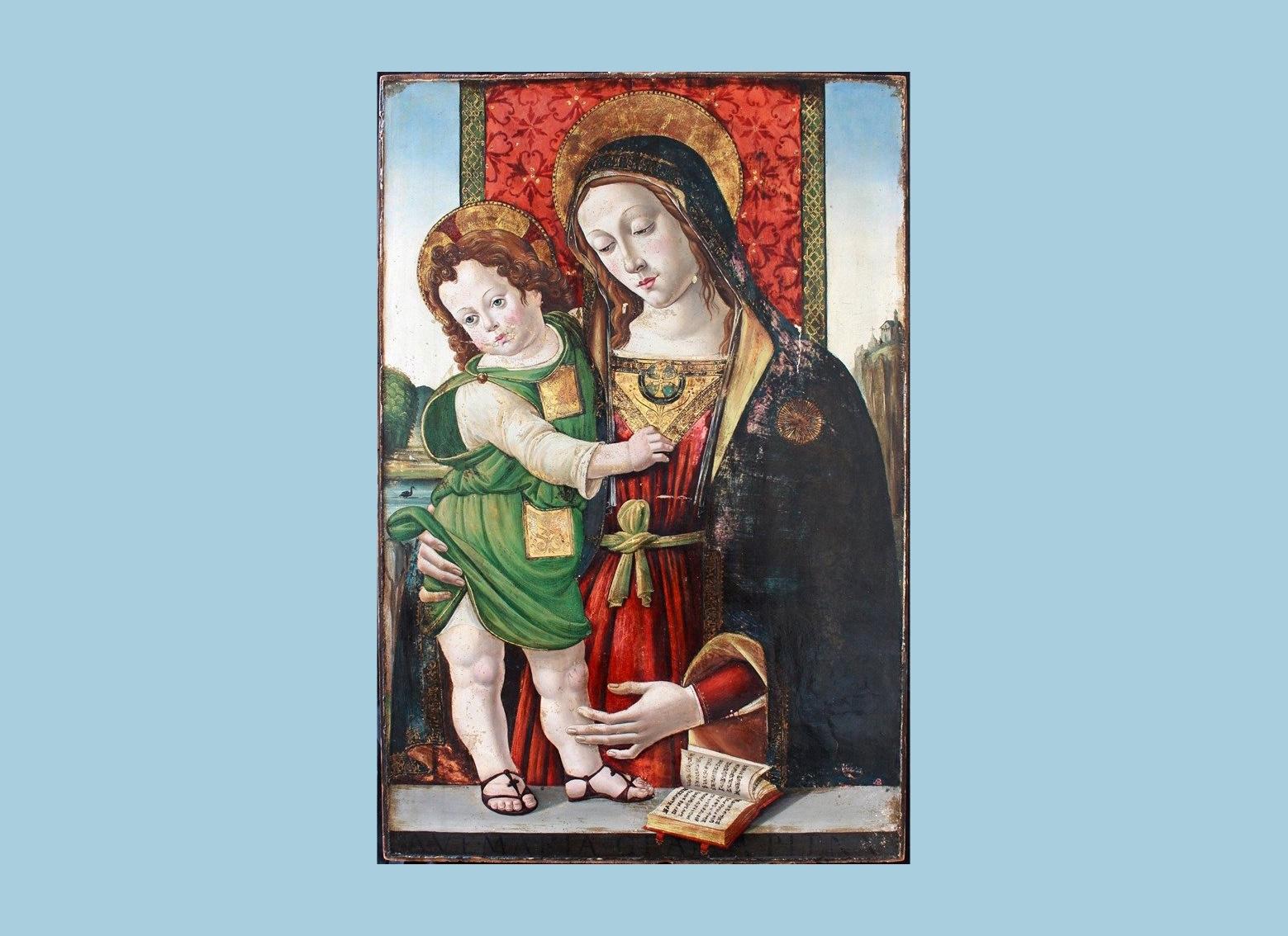 Викрадену картину «Мадонна з дитиною» повернуть до Італії