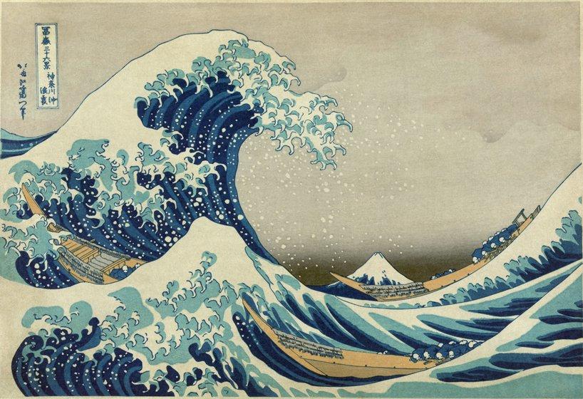Еволюція «великої хвилі» Хокусая у світлинах
