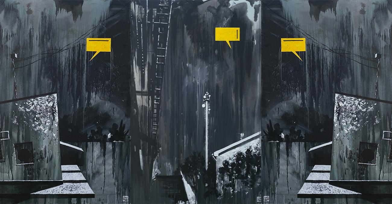 Олекса Манн про роботу «Фрагменти» на резиденції «Ісход. Бірючий 019»