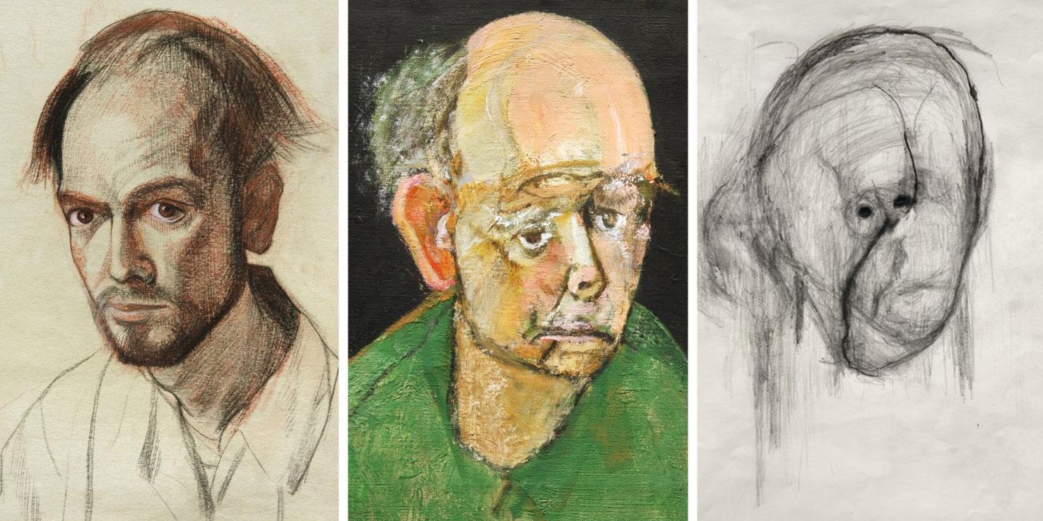 8 автопортретів художника з хворобою Альцгеймера