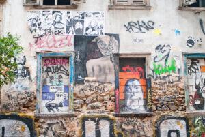 В Афінах знищили арт-сквоти