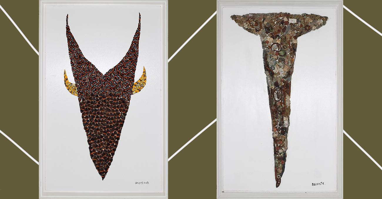 Паралель між комахами та людськими масами: APL 315 про роботу з виставки «Ісход. Бірючий 019»