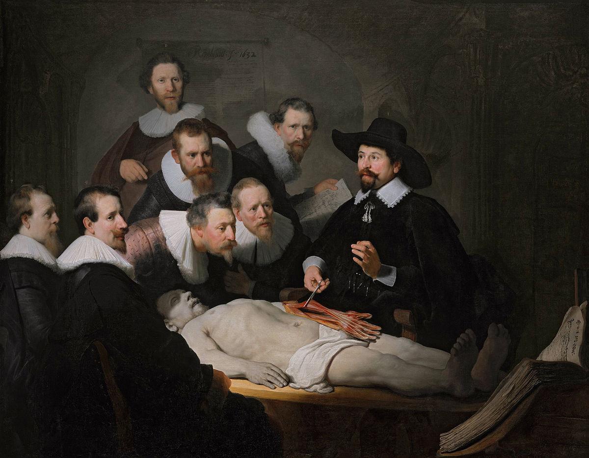 Археологи знайшли художні атрибути Рембрандта