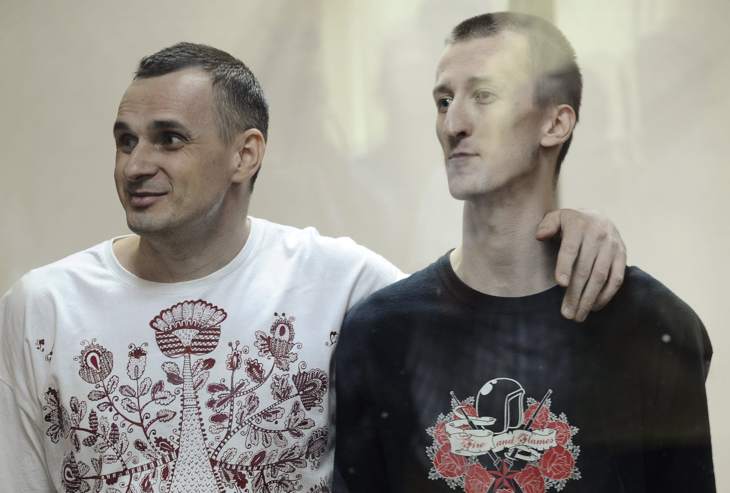 Кольченко і Сенцов повернулися додому