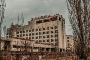 На стіні Чорнобильської АЕС з'явився новий мурал
