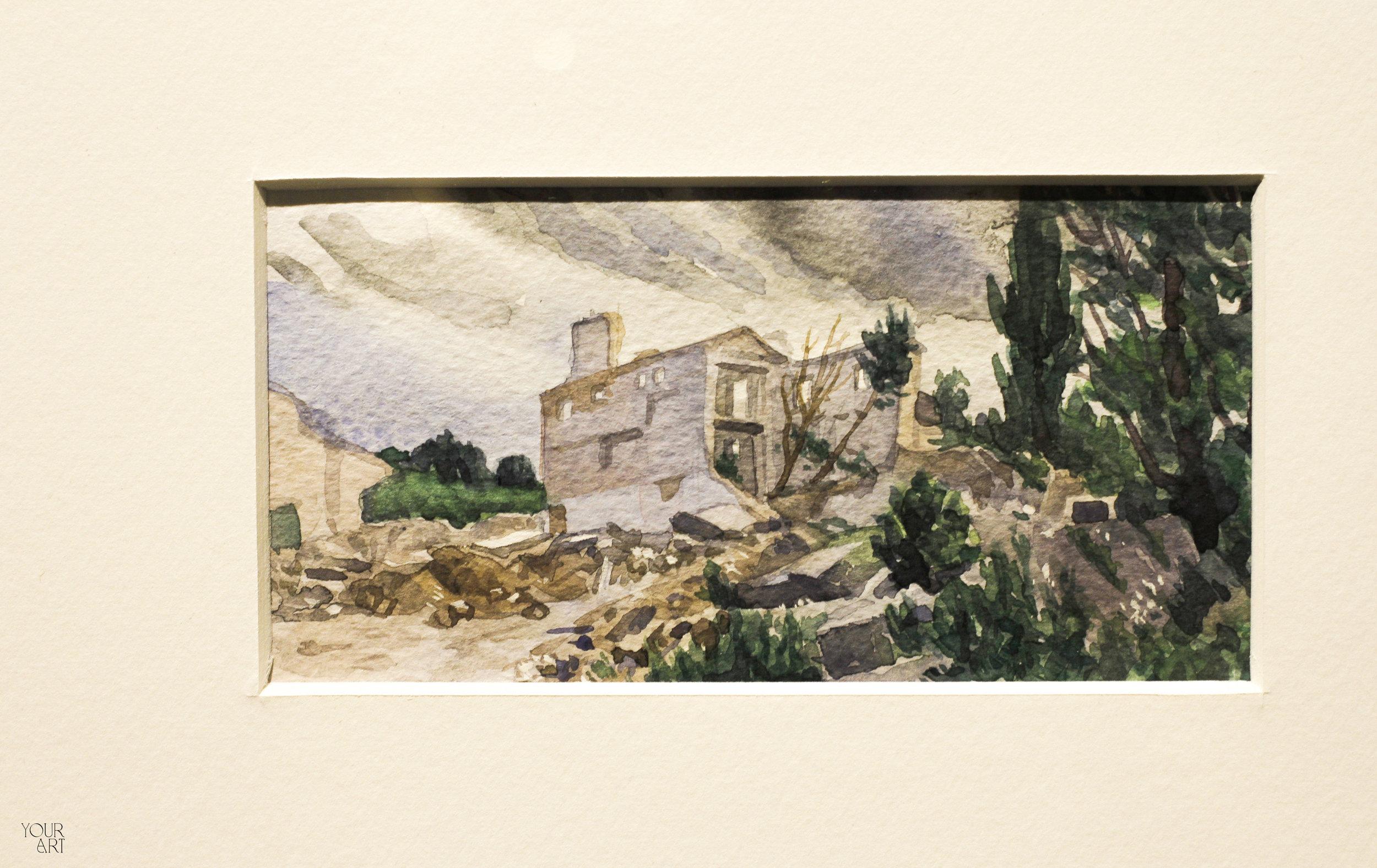 «Подорожні нотатки»: Анна Щербина та Сергій Сабакарь про виставку