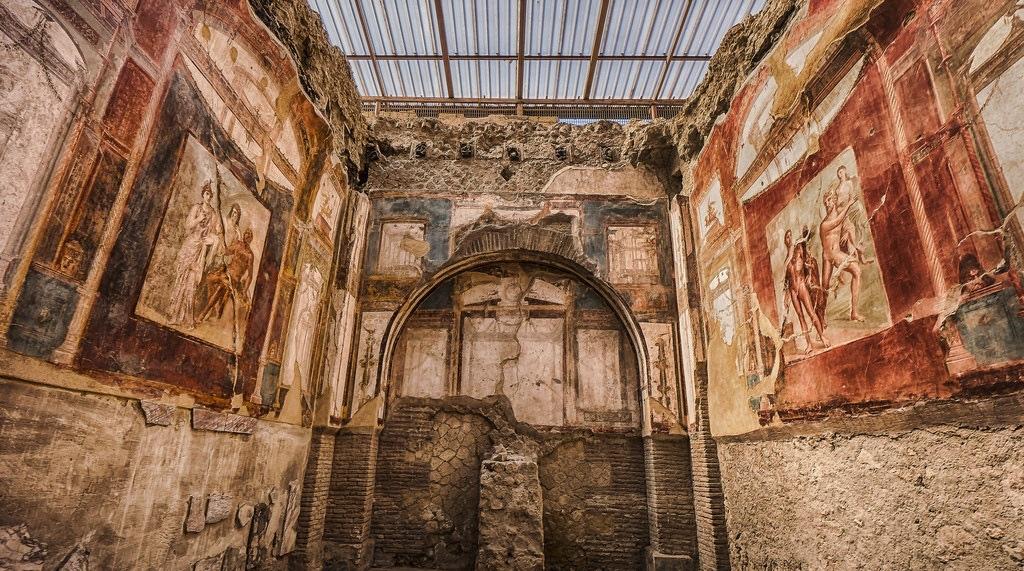 У Геркулануме відкрили будинок, зруйнований виверженням Везувію