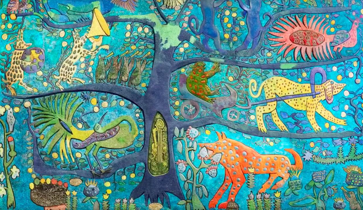 У Відні відбулася прем'єра анімованої проєкції українських мозаїк