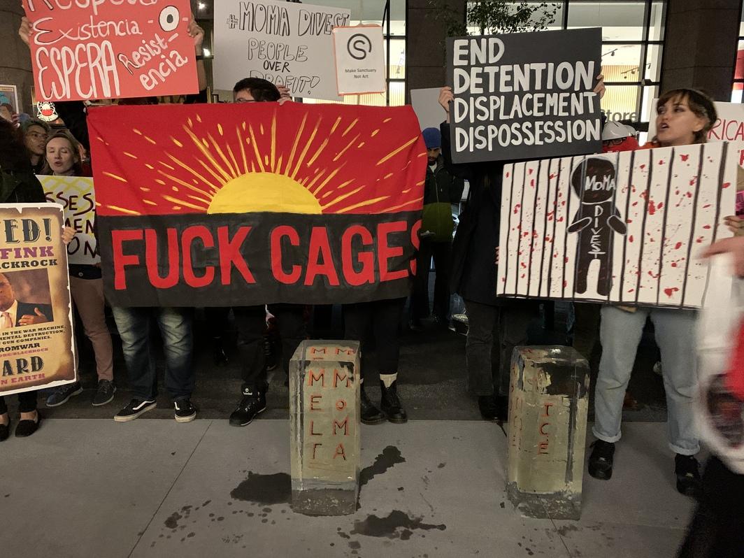 Активісти зірвали відкриття MoMA