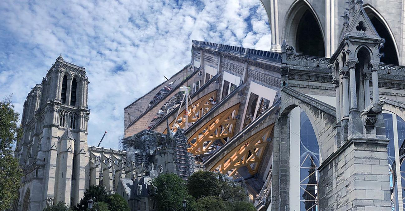 Собор Паризької Богоматері у 5 світлинах: що наразі відреставровано