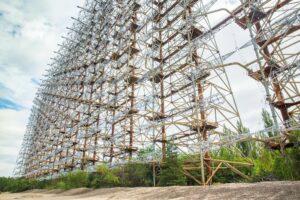 Чорнобильську станцію «Дуга» перетворили на цифрову скульптуру