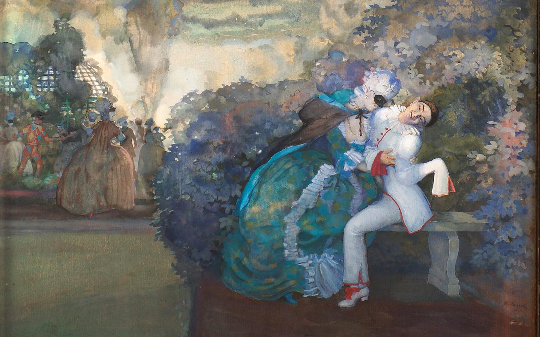 Константин Сомов. Без цензуры в Одесском художественном музее
