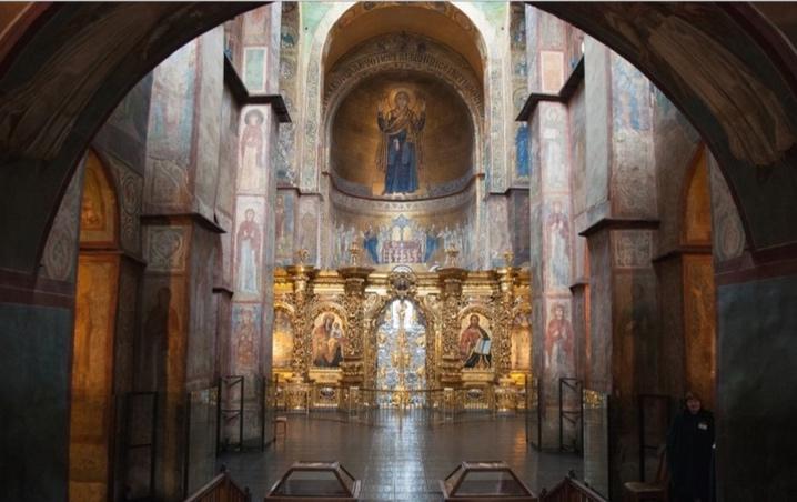 У Софії Київській знайшли нові фрески та мозаїки