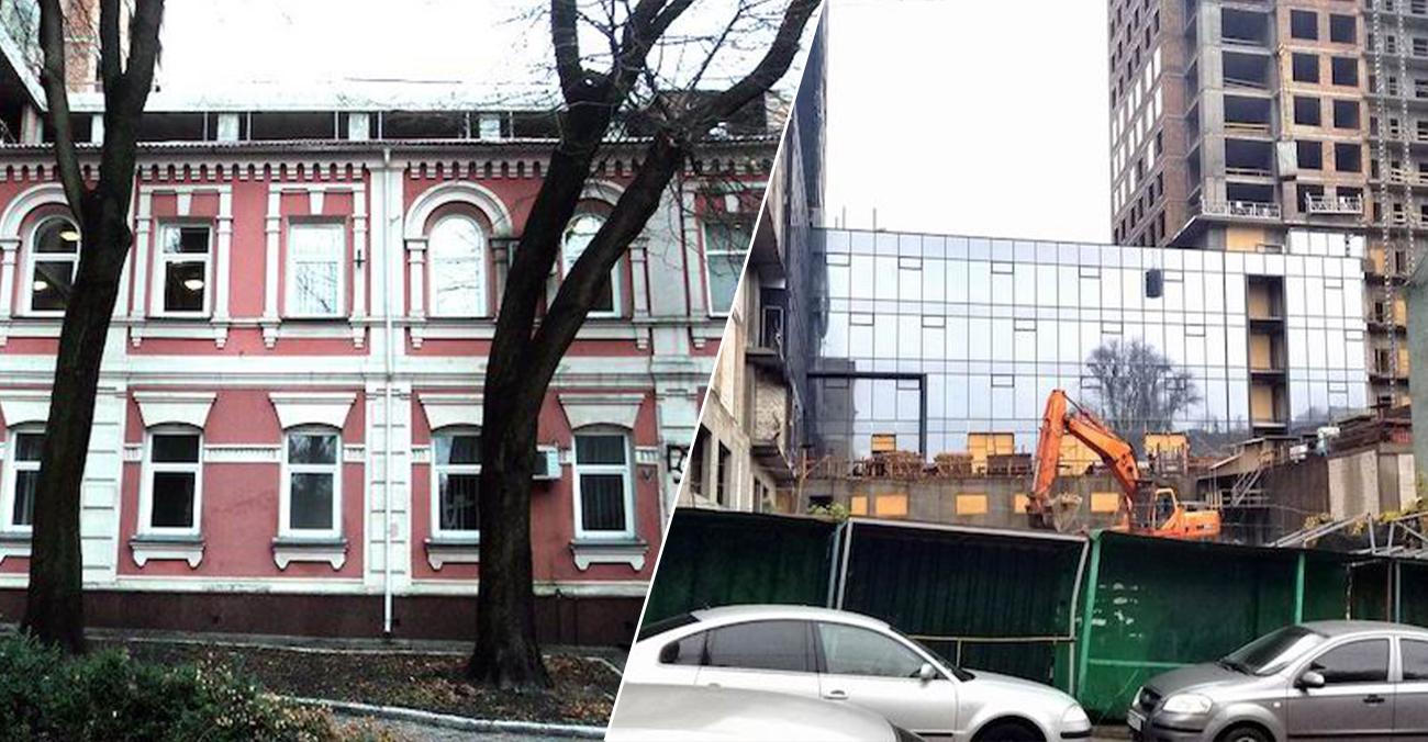 КМДА перевірить легітимність знесення пам'ятки 19 століття на вулиці Лабораторній