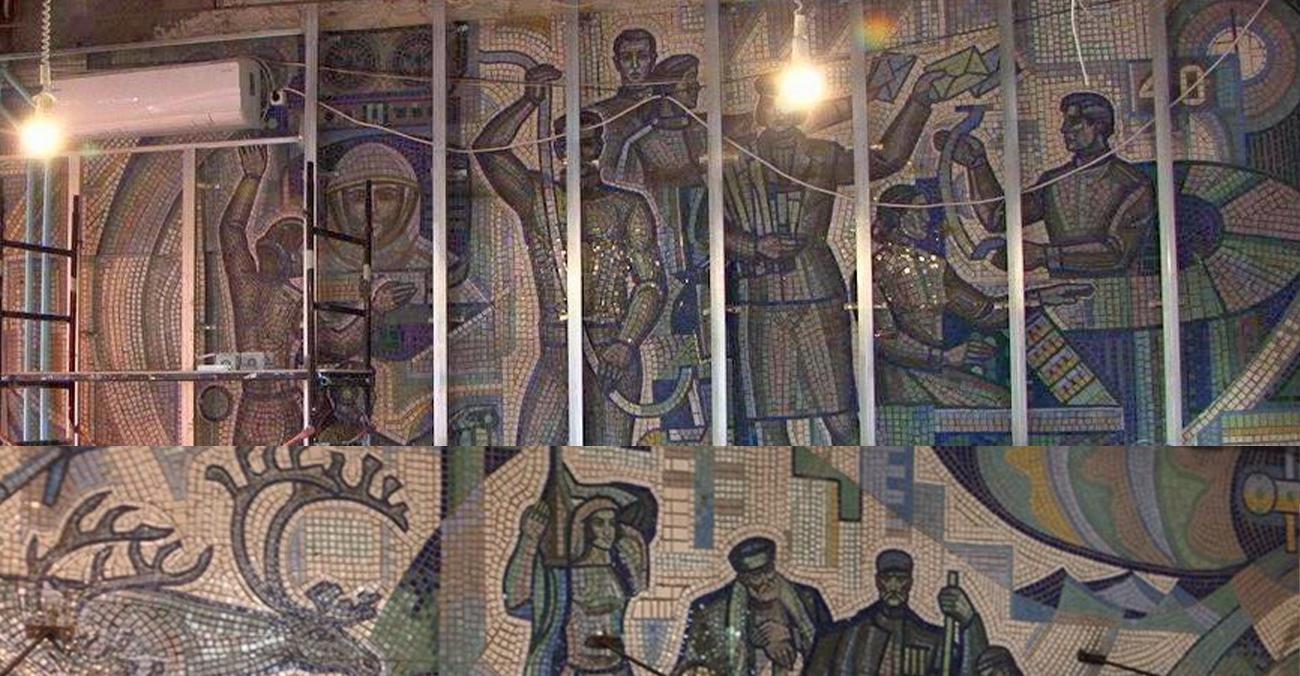 У Дніпрі збережуть радянську мозаїку у відділенні Укрпошти
