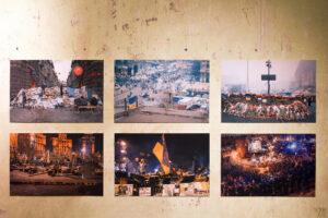 Як пройшло відкриття виставки «Ідемо задом наперед» Сергія Мішакіна та Євгена Нікіфорова