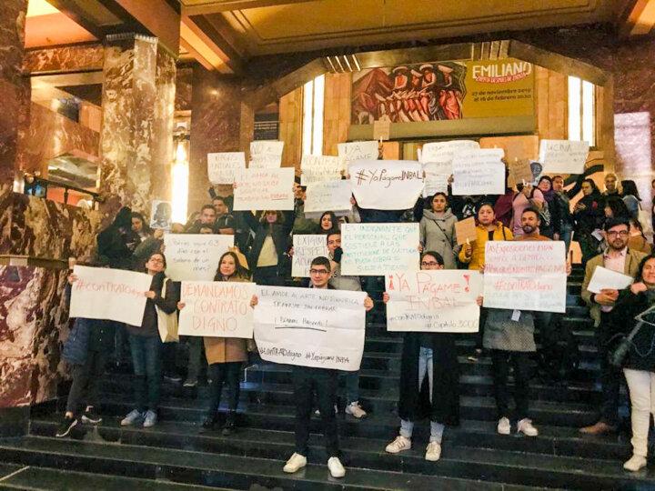 Працівники музею в Мехіко вийшли на мирний протест